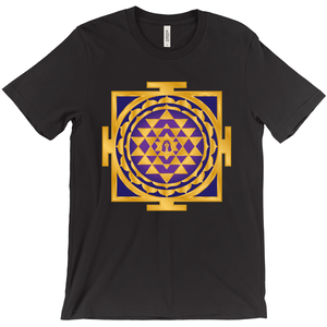 Shri Yantra Shirt Purple