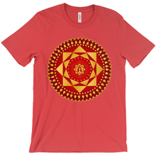Load image into Gallery viewer, Ashta Lakshmi Red Shirt