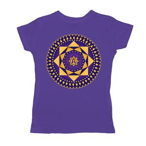 Ashta Lakshmi Purple Women's