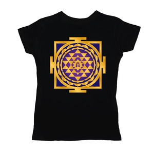 Shri Yantra Purple Women's