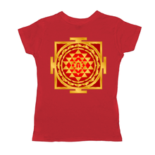Load image into Gallery viewer, Shri Yantra Red Women's