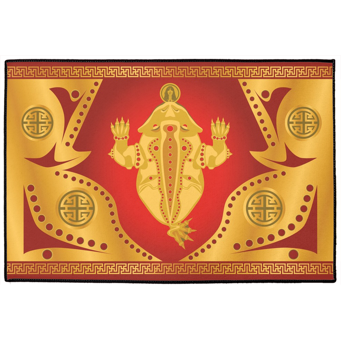 Chan Chu Door Mat Red