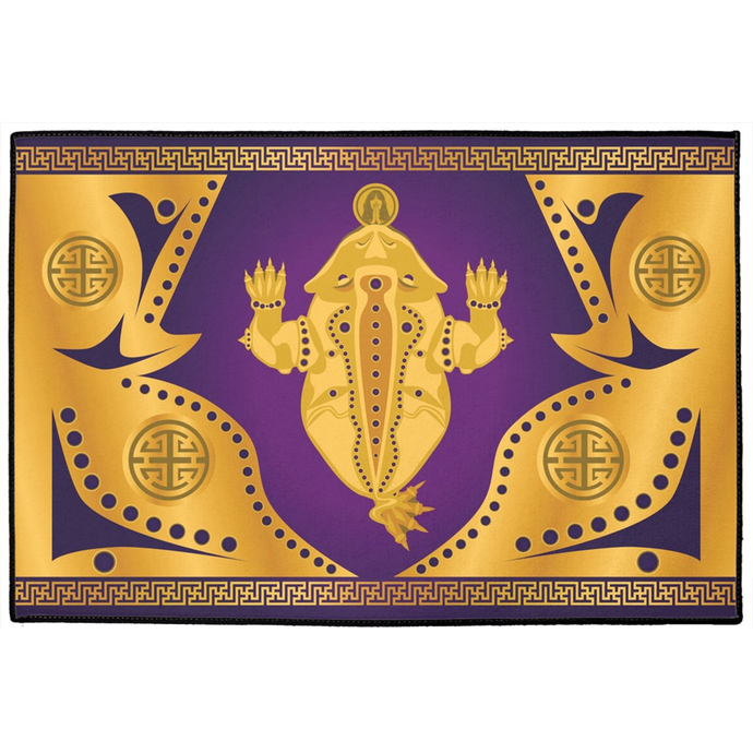 Chan Chu Door Mat Purple
