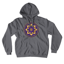 Load image into Gallery viewer, Ashta Lakshmi Purple Hoodie