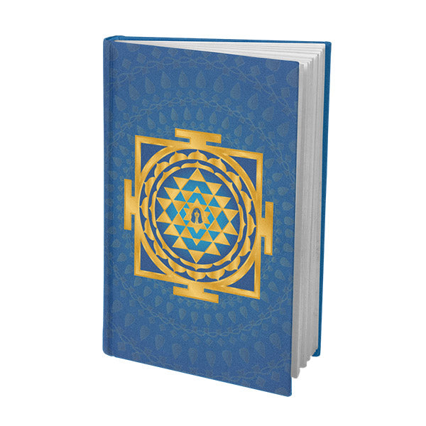 Shri Yantra Journal Blue