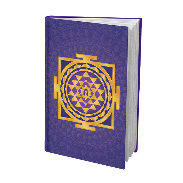 Shri Yantra Journal Purple