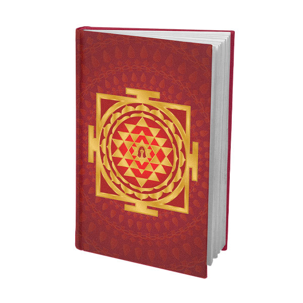 Shri Yantra Journal Red