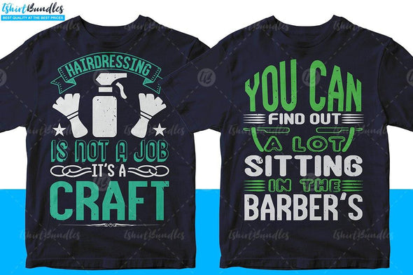 Barber T-shirt Design | Tshirtbundles