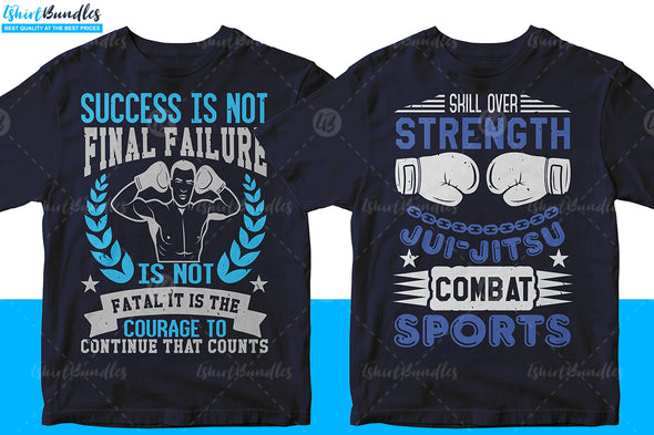 50 Mixed Martial Arts Editable | Tshirtbundles