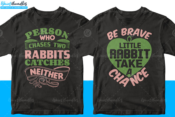 Rabbit T-shirt design | Tshirtbundles