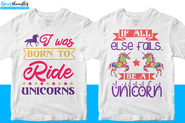 Unicorn T-shirt Design Bundle | Tshirtbundles