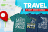 Travel Tshirt Design Bundle | Tshirtbundles