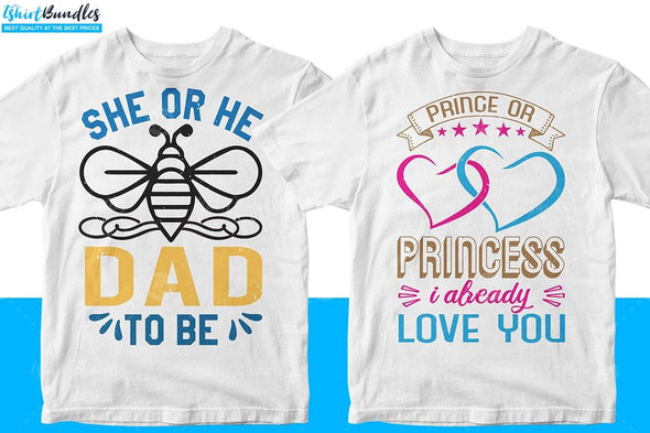 Baby Shower T-shirt Design | Tshirtbundles