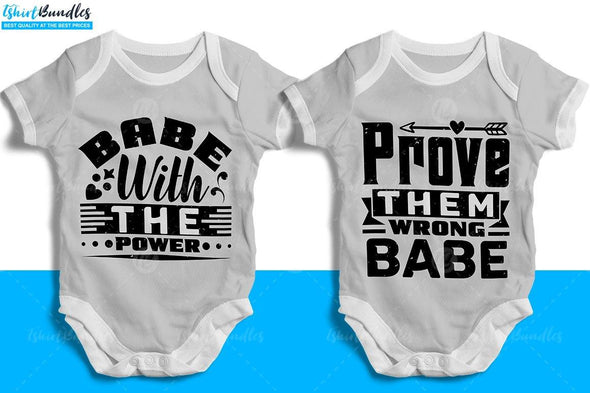 Baby T-shirt design Bundle #3 | Tshirtbundles