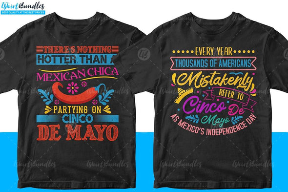 Cinco de Mayo T-shirt Designs | Tshirtbundles