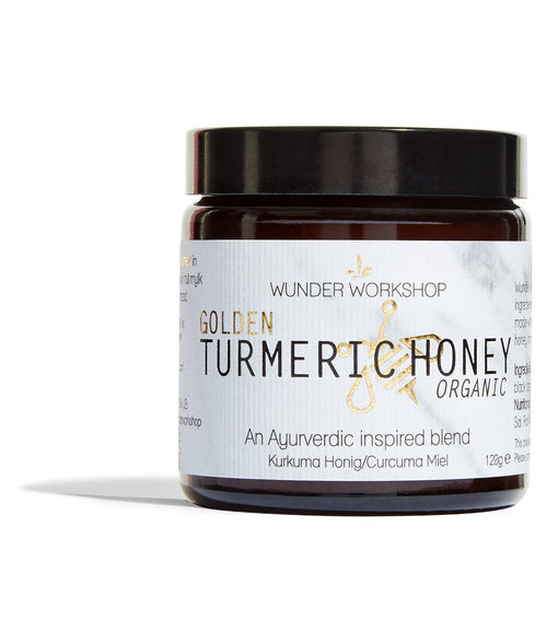 GOLDEN TURMERIC ORGANIC HONEY