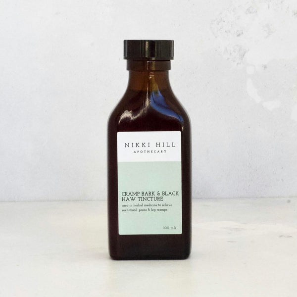 Cramp Bark & Black Haw Tincture
