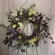 Grapevine Sympathy Wreath