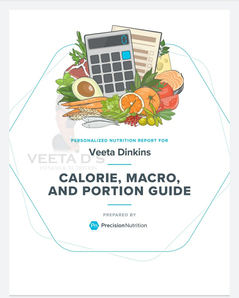 Customized Macronutrients (Calories) Calculation
