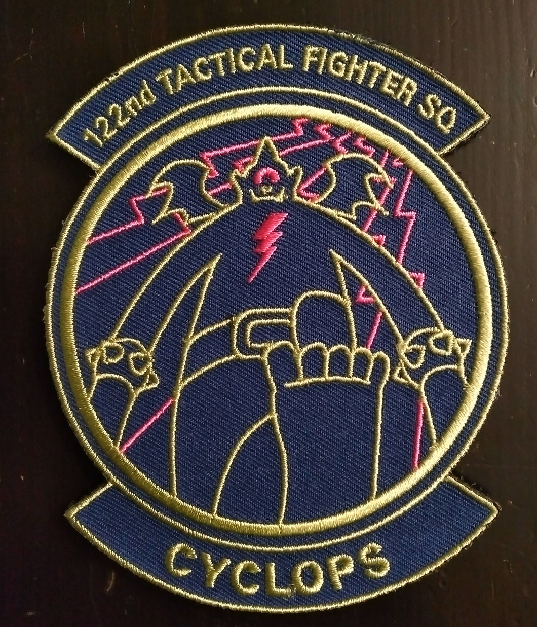 Cyclops Squadron Patch