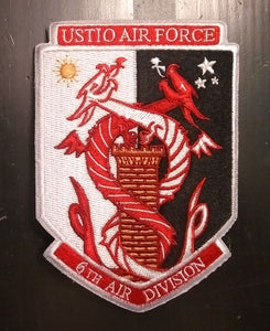 Ustio 6th Air Division Patch
