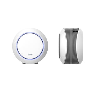 PureZone™ Halo True HEPA Air Purifier - White
