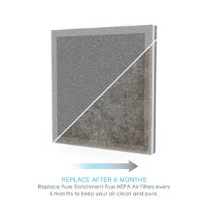 PureZone™ Air Purifier Replacement Filter | Genuine Pure Enrichment® Replacement Filter