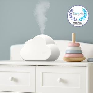MistAire Cloud Ultrasonic Cool Mist Humidifier & Night Light