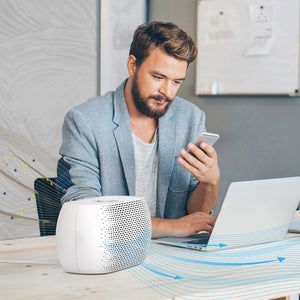 PureZone™ Breeze Tabletop Air Purifier