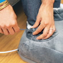 Load image into Gallery viewer, PureRelief Deluxe Foot Warmer – Gray