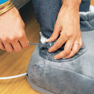 PureRelief Deluxe Foot Warmer – Gray