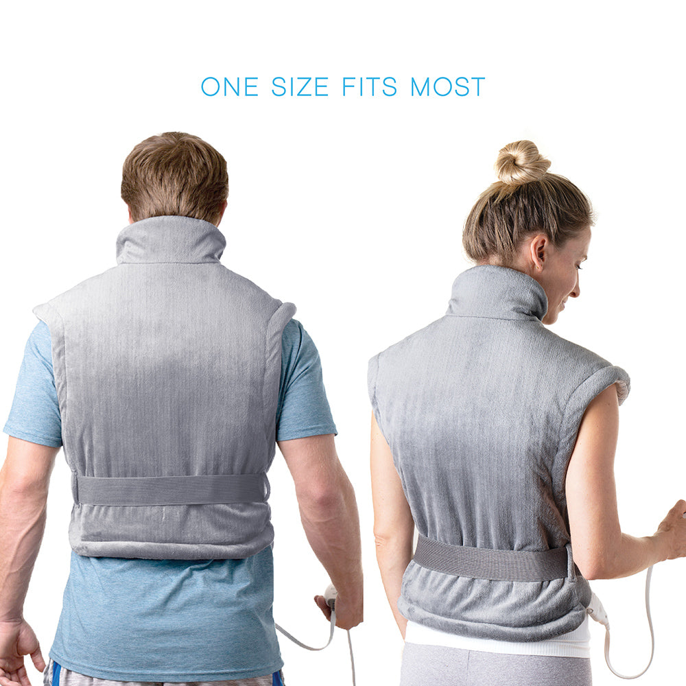 Load image into Gallery viewer, PureRelief XL Extra-Long Back & Neck Heating Pad
