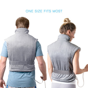 PureRelief XL Extra-Long Back & Neck Heating Pad