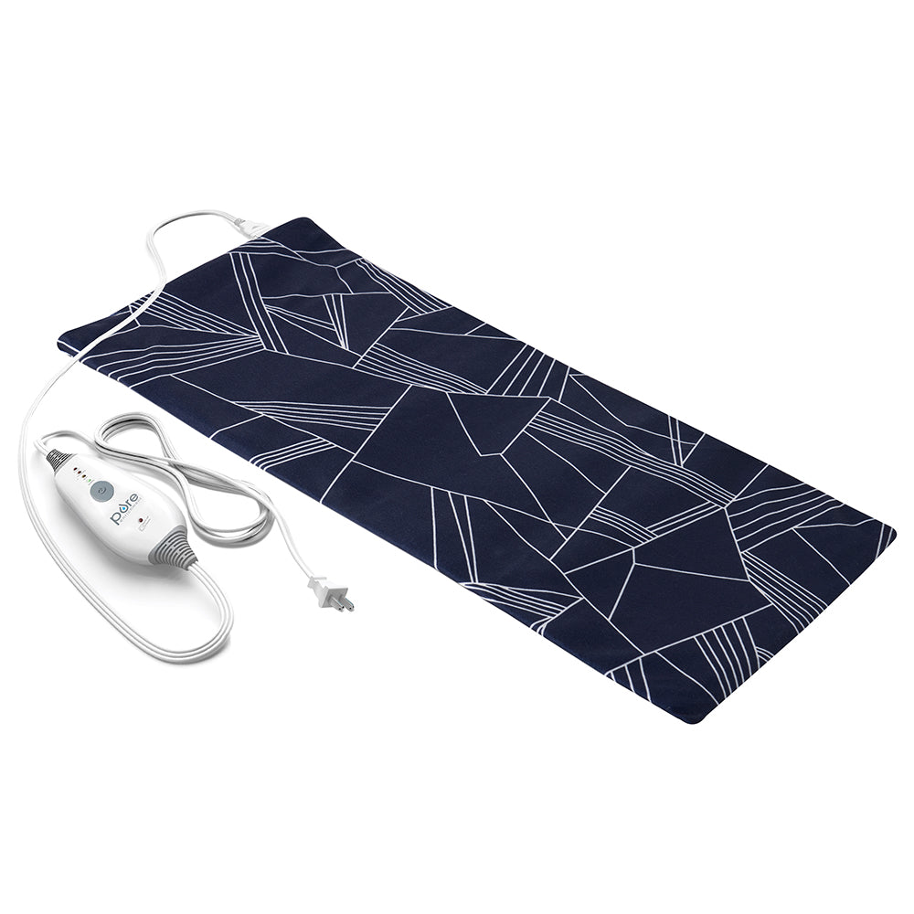 "Load image into Gallery viewer, PureRelief Express Designer Series Heating Pad 12"" x 24"""
