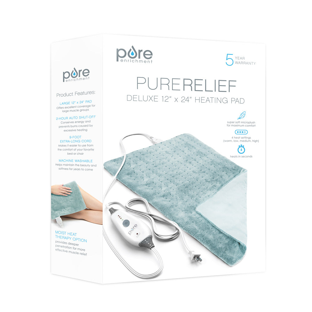 Load image into Gallery viewer, PureRelief Deluxe Heating Pad