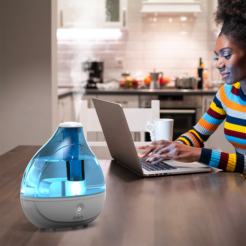 Load image into Gallery viewer, MistAire™ Ultrasonic Cool Mist Humidifier | Pure Enrichment®