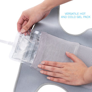 PureRelief Universal Joint And Muscle Heating Pad – Gray