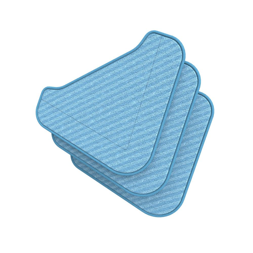 Pureclean Xl Microfiber Triangle Replacement Mop Pads 3 Pack Pure Enrichment