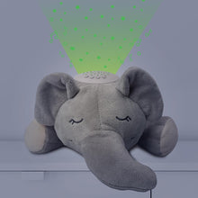 Load image into Gallery viewer, Sound Sleepers Sound Machine and Star Projector - Elephant
