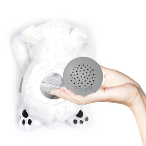 PureBaby® Sound Sleepers Sound Machine and Star Projector - Polar Bear