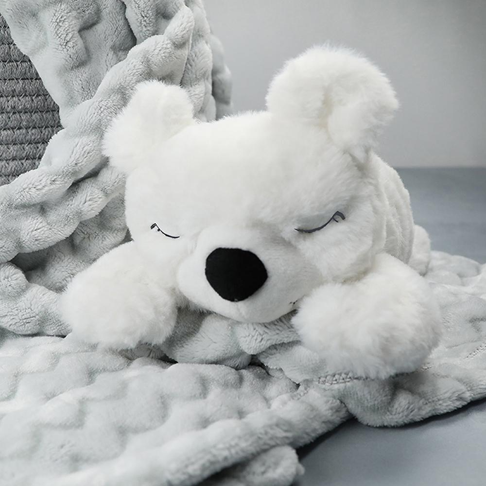 Load image into Gallery viewer, PureBaby® Sound Sleepers Sound Machine and Star Projector - Polar Bear