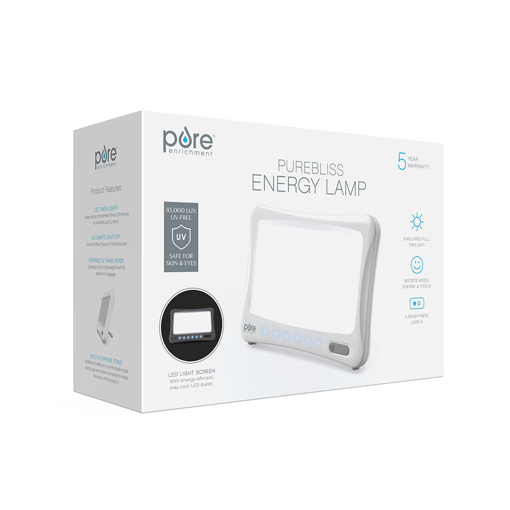 Load image into Gallery viewer, PureBliss™ Light Therapy Lamp | Pure Enrichment®