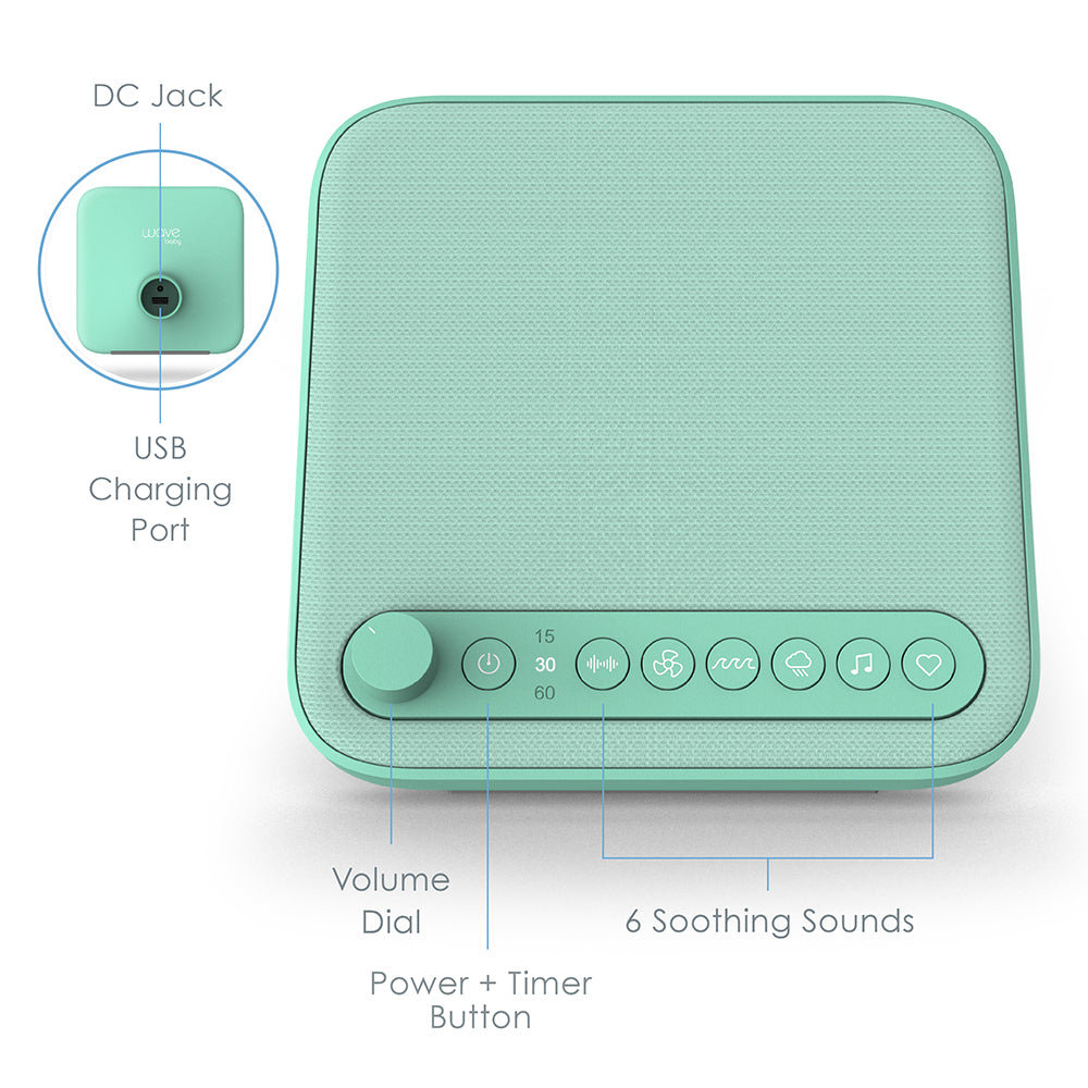 Load image into Gallery viewer, WAVE™ Baby Premium Soothing Sound Machine