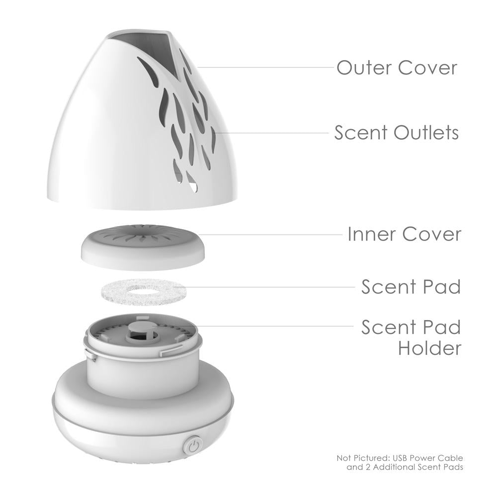Load image into Gallery viewer, PureSpa™ Breeze USB Essential Oil Diffuser
