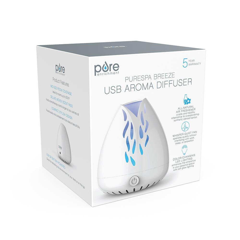 Load image into Gallery viewer, PureSpa Breeze USB Essential Oil Diffuser