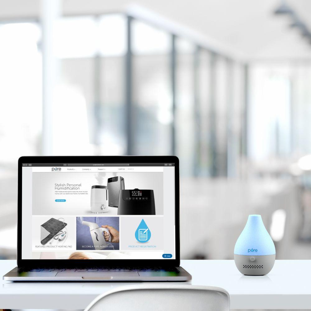 Load image into Gallery viewer, PureSpa Drop USB Aroma Diffuser