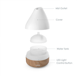 PureSpa™ Natural Essential Oil Diffuser