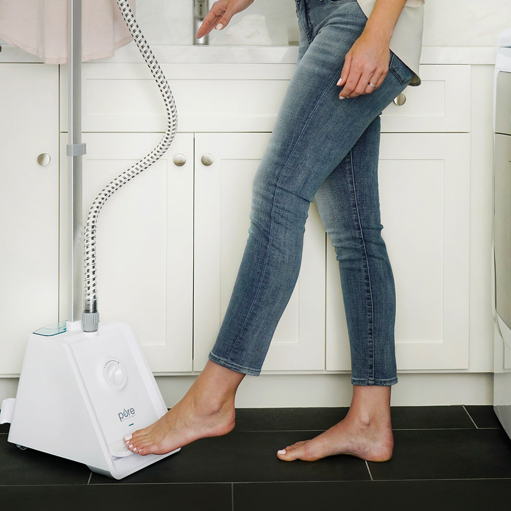 Load image into Gallery viewer, PureSteam™ Pro Upright Garment Steamer