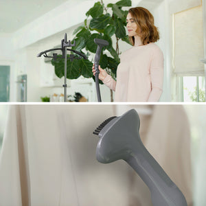 PureSteam™ XL Standing Steamer with Garment Hanger | Pure Enrichment®