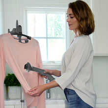 Load image into Gallery viewer, PureSteam™ XL Standing Steamer with Garment Hanger | Pure Enrichment®